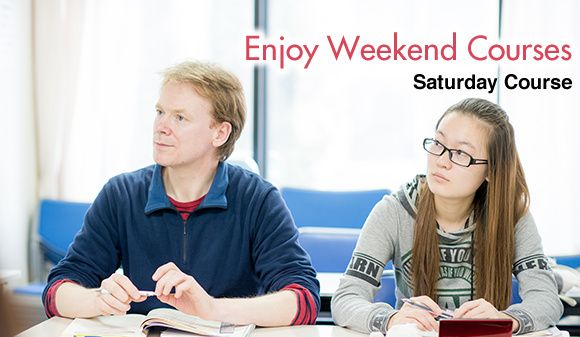 Japanese Saturday course: Enjoy weekend courses!